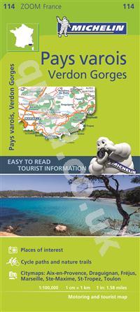 St Raphael France Map.4 99 Marseille Toulon St Raphael France Zoom Michelin Road Maps